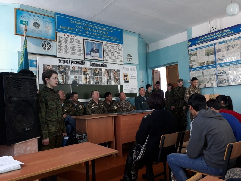 участники афганской войны